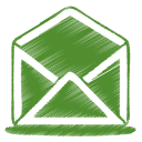 green-mail-open-icon